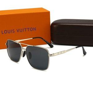 5 kinds of color choice summer aviator sunglasses gafas DE sol womenLuxuryDesignerBrand1gLV 1gWITH box