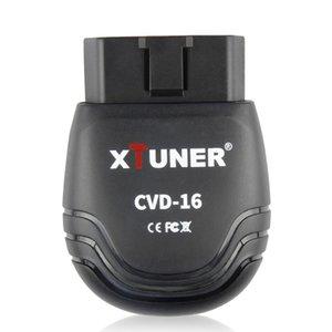 12V / 24V del veicolo d'esplorazione OBD2 XTUNER CVD-16 Strumento diagnostico Android Scanner Bluetooth per Heavy Duty Truck auto OBD 2 scanner