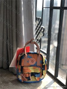 Fjallravens женщины Kanken классический искусство специальный выпуск мини ежедневно рюкзак холст водонепроницаемый дети и студенты рюкзаки кожаную основу популярные сумки