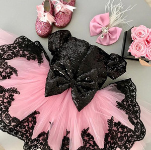 Princess Kid Baby Dress For Girls Lace Tutu Wedding Formal Pageant Party Bridesmaid Dress Tulle Dress Children Clothes CX200603