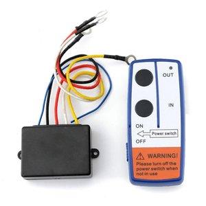 El más reciente 23A DC 12V 50FT remoto inalámbrico Kit de control remoto del cabrestante interruptor de control para el interruptor del carro ATV SUV del torno del coche envío de la gota