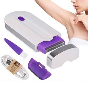 2 in 1 rimozione epilatore elettrico ricaricabile Donne indolore dei capelli del laser Epilatore dispositivo istantaneo Light Sensor Shaver Dropshipping