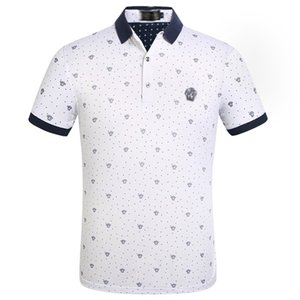 New Mens Designer Brand Summer Polo Tops Embroidery Mens Polo Shirts Fashion Shirt Men Women High Street Casual Top Tees Size 41
