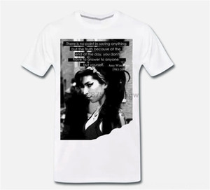 T-Shirt Maglia Amy Winehouse Back To Black Grande Men's Tees & Polos Men's Clothing Voce Mito Quote 4 S-M-L-Xl Printed Tee Shirt