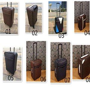 """شحن مجاني المتداول الأزياء الأمتعة مصمم جودة عالية أربع عجلات عربة حقيبة السفر حقيبة الرجال 20 """"24"""" على ترحيل الأمتعة للنساء"""
