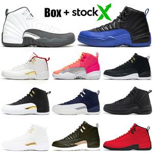 gris oscuro 12s hombres zapatos de baloncesto 12 inversa Taxi juego real alas REPTIL Winterized WNTR 3 CALIENTE PUNCH mens entrenadores zapatillas deportivas 7-13