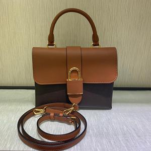Top qualité LOCKY BB sac Messenger femme sac à main en cuir véritable toile femmes sac bandoulière Sacs à bandoulière porte-monnaie dame avec la boîte B037