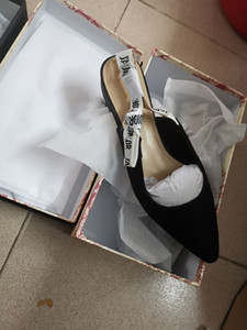 Sandales à talons pointus pour femmes Sandales Ribbon pour dames Butterfly Knot Tip Tip Sandales à talons hauts minces, peau enveloppée