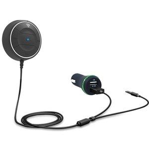 Автомобильный Bluetooth-приемник Адаптер Автомобильный MP3 Hands-Free Call Музыка Play Зарядное устройство для телефона