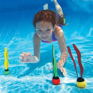 Swimming Pool Diving Toys 3Pcs set Children Underwater Game Props Seaweed Swimming Pool Accessories