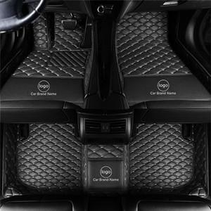 ZHIHUI Custom Car Floor Mats for Peugeot 206 207 301 5008 RCZ Carpet In The Car Alfombras Coche Alfombrilla Coche