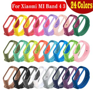 Replacement Silicone Wrist Strap Watch Band For Xiaomi MI Band 4 3 Smart Bracelet New Watch Strap Smart Accessories