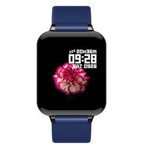 B57 Smart Watch Водонепроницаемая частота сердечных сокращений Монитор кровяное давление Многократный спортивный режим SmartWatch Женщины носимые часы Мужчины умные часы