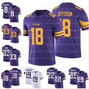 Homens 18 Justin Jefferson Minnesota