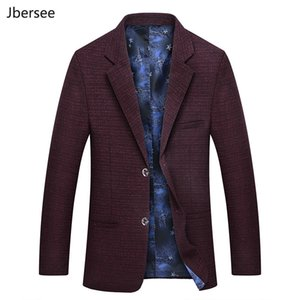 jh Spring Autumn Men's Suit Jacket Fashion Casual Slim Fit Dress Jacket Wedding Suit Men Vintage Mens Blazer Jackets