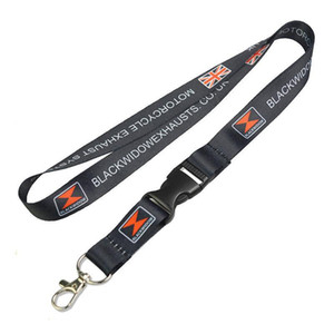 2018 No MOQ OEM Factory Price Company Office Working Personalized Custom heart Transfer Printing Logo Polyester Neck Lanyards 2CM 70pcs