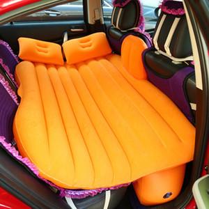 Universal del aire colchón inflable del asiento trasero del recorrido de coche cama al aire libre de múltiples funciones del amortiguador de la estera que acampa del colchón con almohadas
