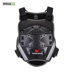 WOSAWE Kids Vest Armor Chest Back Protection Jacket Enfant Motorcycle Skate Sports Body Protective Armor Gear Chidren's Vests
