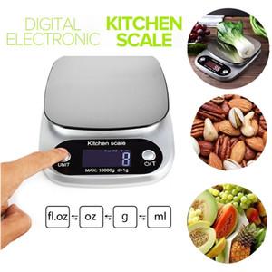 Nuova 10kg / 1g digitale di precisione Bilancia da cucina elettronica del peso equilibrio Alta Gioielleria precisione dieta di alimento della bilancia da cucina Strumenti