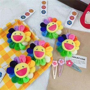 pendiente accesorios sol lindo broche de flores de colores pin insignia cartera de estilo nórdico INS envío libre de DHL