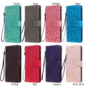 téléphone portefeuille en cuir cas pour iPhone 11 Pro XS Max XR Samsung S20 Note 10 LG K40S K30 Wallet Pochette à sous carte