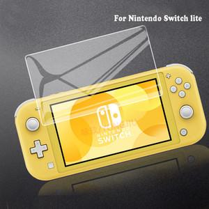 Şeffaf HD Temizle Anti-Scratch ile Nintendo Anahtarı Lite temperli cam Ekran Koruyucu Koruyucu Film Anahtarı Ekran Koruyucu