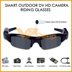 Digital Camera Sunglasses HD Glasses Eyewear DVR Video Recorder 3 IN 1 Sunglasses UV400 Outdoor Sports Fishing Smart Cycling Riding Glasses