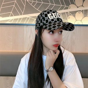Fashion brand letter casual hat high quality classic color men's and women's traveling hats