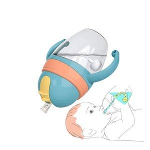 Silica Gel Feeding Kinder Kleinkind neugeborene Baby-Trinkbecher Wasserflaschen für Kinder Trinken Sippy A-Cup mit Stroh Copo Infantil Drinke