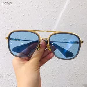 2020 Hottes square T402 Metal-PLANK unisex sunglasses UV400 HD colorful lens55-19-150 fashion designed star exqusite processing fullset case