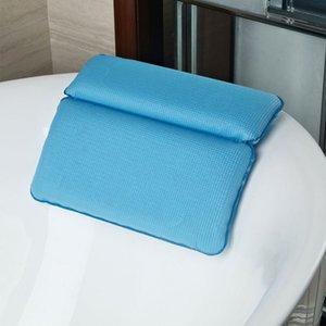 Cojín impermeable SPA Bañera almohadas Spa Suministros Baño apoyo para la cabeza Almohada de la tina de hidromasaje Almohada Almohada caliente