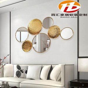 Northern Europe Wall Decoration Three-dimensional Metope Hanging Ornaments Metal Hotel Template Bedroom A Living Room