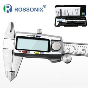 High Precision Edelstahl-Metall Digital Schieber 6 Zoll 15cm Messgerät LCD Noniusschieber Messwerkzeug setzt T200602
