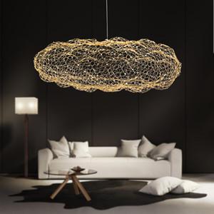Moderno Creativo nube light fixtures LED lampada a sospensione stellato personalità Hotel Ristorante Bar designer firefly moderne lustre