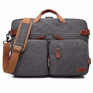 Сумка Messenger Notebook 17 17.3 Бизнес-дюймовый дюйм сумка для ноутбука Сумка для ноутбука 15 портфель Rucksack Convertible рюкзак NLLNH