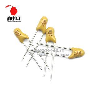 Componentes Pasivos Condensadores 5pcs DIP tantalio Capacitor 10 16 20 25 35V 50V 0,1 0,22 0,33 0,47 1 2,2 4,7 10UF 15UF