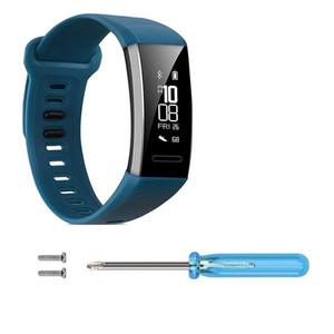 2019 montre Smart Watch remplacement Bracelet en silicone Wristband Pour Huawei Band 2 / Band 2 Pro avec des outils