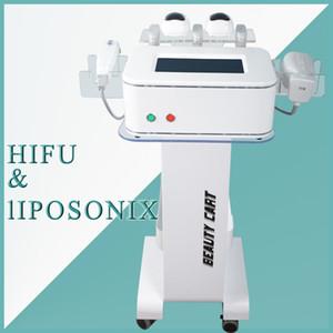 La vente chaude professionnelle de haute intensité focalisée enlèvement rapide de graisse de Liposonix plus efficace corps hifu amincissant la machine