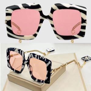 moda 0722S copos folha de policarbonato clássico retangulares quadro 0722 óculos de sol para homens e mulheres óculos escuros de grife com caixa original