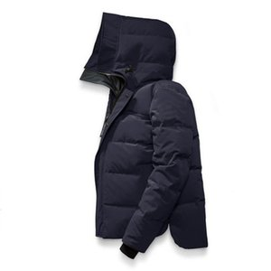 Новый стиль Канада Зима Мужчины Зима Homme Jassen Куртки Parka Верхняя одежда Big Fur Hooded Fourrure манто пуховик пальто Hiver Doudoune