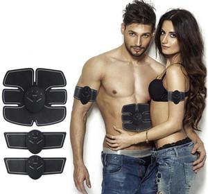 US AZIONE! Muscolare Electro stimolatore Elettrostimolatore Addominale Massager elettrico di addestramento Apparato fitness macchina costruzione FY0030 corpo