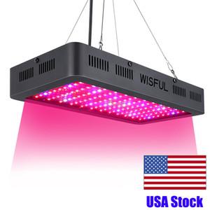 Full Spectrum 1000W 1200W 1500W Watt Double LED Chip Grow Lights LED carré élèvent la lumière pour l'éclairage de plus en plus de plantes hydroponique