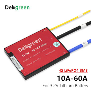 ccessori Battery 3.2V LifePO4 4S 12V 15 20 30 40A 50A 60A PCM / PCB / BMS LiFePO4 LiNCM LMO Li-po batteria 18650