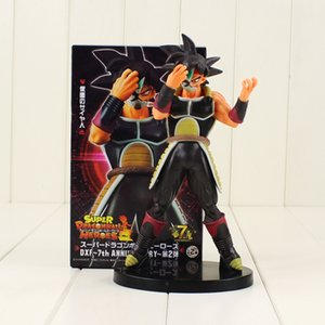 21cm Dragon Ball Super Hero Figure Toy Masked Saiyan Bardock Burdock 7th Anniversary DXF Action Figures Y200703