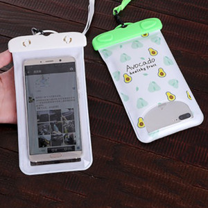 Phone wasserdichte Tasche PVC Protective Handy-Beutel-Tauchen Pouch Schwimmen Sport 5.5inch Universal-Telefon-Kasten für iphone6 6Plus DBC DH1440