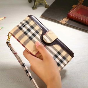 Caja de la piel de la bolsa de la bolsa de la cartera de envío para el iPhone 11 x 8 7 6 6