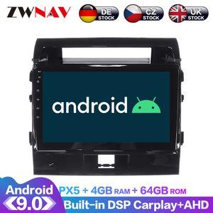 Android 9 IPS DSP 32 bandas Carplay 8 Core 4 + leitor de 64GB Car Não DVD Multimedia Para Land Cruiser 200 GPS Navigation dvd carro