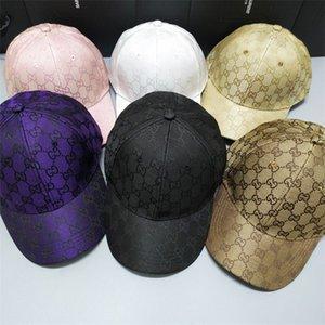 quatre saisons sportives des hommes express chapeaux lettre pour adultes des femmes des hommes / réglable Casquettes de base-ball courbé / Designer pare-soleil