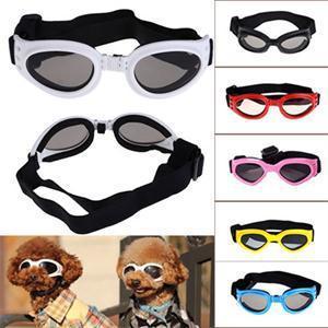 New Atraente desgaste do cão Pet óculos de sol óculos de sol óculos Goggles Eye Proteção Dress Up Multi-cor de água à prova de lança fresco