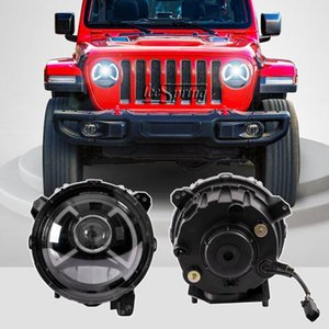 Car Style LED headlight Assembly fit for Wrangler Head Lamp 2018-2020 (One pair)